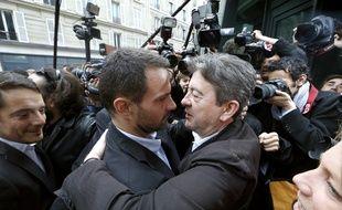 En juillet 2013, Jean-Luc Mélenchon était venu soutenir Jérôme Kerviel lors de l'audience de conciliation devant les prud'hommes.