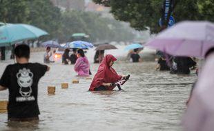 Le 20 juillet 2021, à Zhengzhou en Chine.