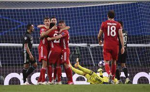 L'OL a perdu 3-0 contre le Bayern en demi-finale de la Ligue des champions, le 19 août 2020.