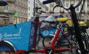 Une journée d'essais ouverte aux Strasbourgeois avait été organisée afin de choisir les futurs équipements de Velhop en septembre 2017.