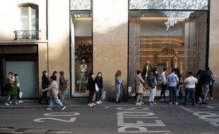 Les clients étaient au rendez-vous pour la réouverture des commerces.