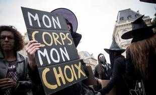 Manifestation pro-choix à Paris