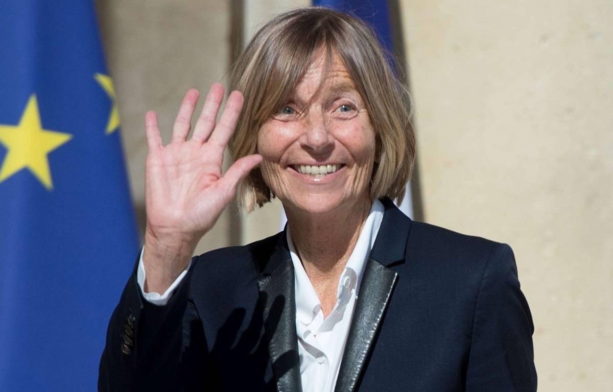 Marielle de Sarnez, ministre des Affaires européennes, le 31 mai 2017, à l'Elysée. –  CHAMUSSY/SIPA