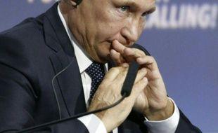 """Vladimir Poutine participe au forum d'investissement """"Russia Calling!"""", le 13 octobre 2015 à Moscou"""