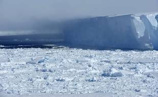 La mer de Weddell (illustration).