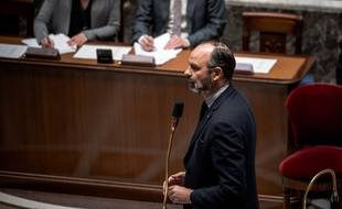 Edouard Philippe, à l'Assemblée nationale.