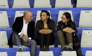 Edwige Lawson (au centre), aux côtés de son président Franck Manna.