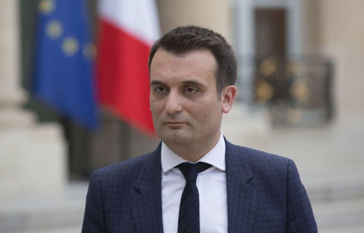 Le vice-président du FN Florian Philippot – GEOFFROY VAN DER HASSELT / AFP