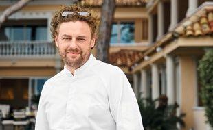 Le chef Arnaud Donckele va prendre la tête du restaurant gastronomique de l'hôtel Cheval Blanc à Paris, début 2020.