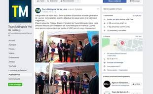 La photo de l'inauguration d'une station d'épuration a provoqué une polémique sur les réseaux sociaux