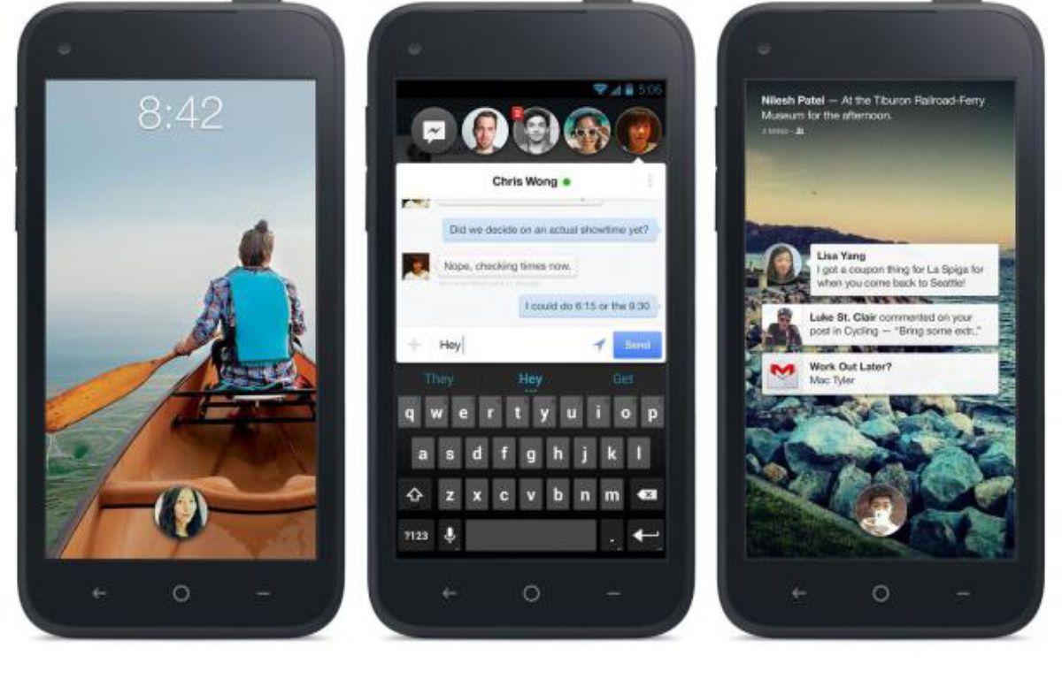 Facebook Home, qui s'invite au coeur d'Android, a été présenté le 4 avril 2013. – DR