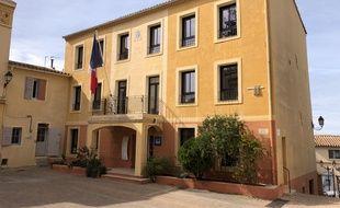 La mairie d'Allauch en mars 2020