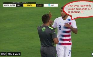 Yedlin se marre de Neymar