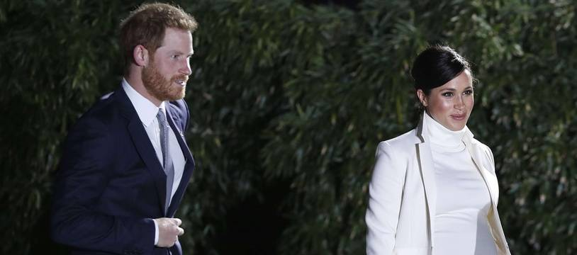Le prince Harry et Meghan Markle, duchesse de Sussex, à Londres, le 12 février 2019.