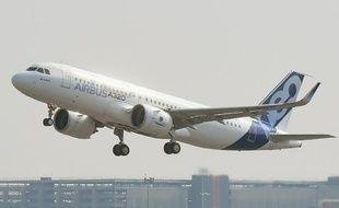 Un Airbus A320 (illustration).