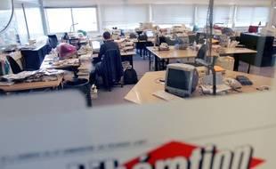 Les anciens locaux de Libération - Illustration.