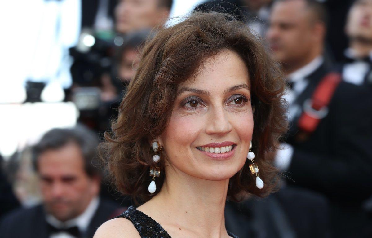 La ministre de la Culture, Audrey Azoulay, lors de l'ouverture du 69e Festival de Cannes, le 11 mai 2016. – Valery HACHE / AFP