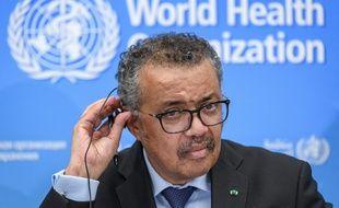 Le directeur général de l'OMS, Tedros Adhanom Ghebreyesus, le 24 février 2020.