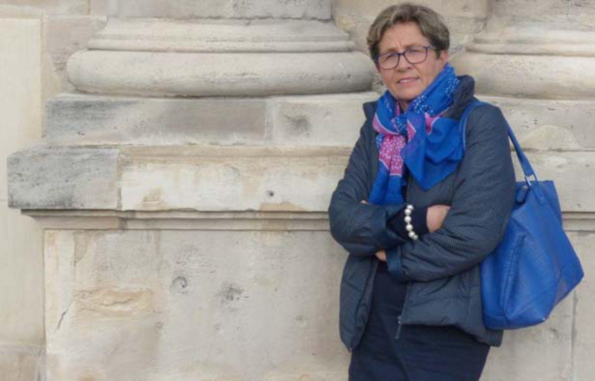 Reims, le 16 octobre 2014. Viviane Lambert se bat pour que son fils, Vincent, soit maintenu en vie. – V. VANTIGHEM / 20 MINUTES