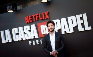 Alvaro Morte incarne le Professeur dans la série « La Casa de papel ».