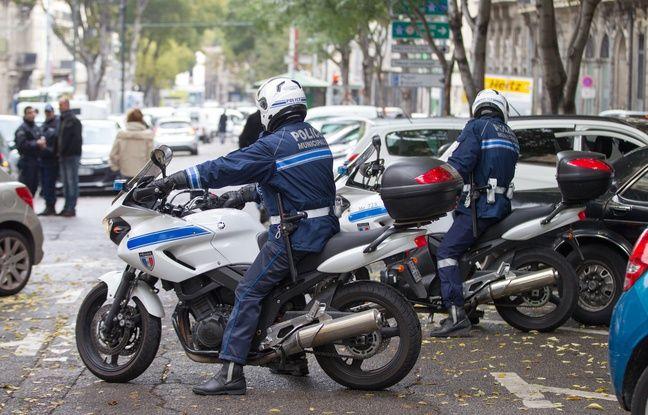 Marseille le 27 novembre 2013 - Illustration sur la police municipale