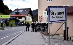 Brenner, à la frontière italo-autrichienne