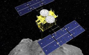 La sonde japonaise Hayabusa2 est parvenu à créer un cratère sur un astéroïde.