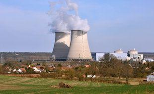 La centrale nucléaire de Belleville-sur-Loire, le 15 mars 2011.