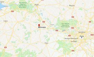 Les faits ont eu lieu dans la commune de Gravigny, dans l'Eure.