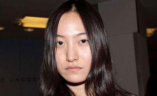 Le mannequin coréen Daul Kim, à New York, le 5 février 2009.