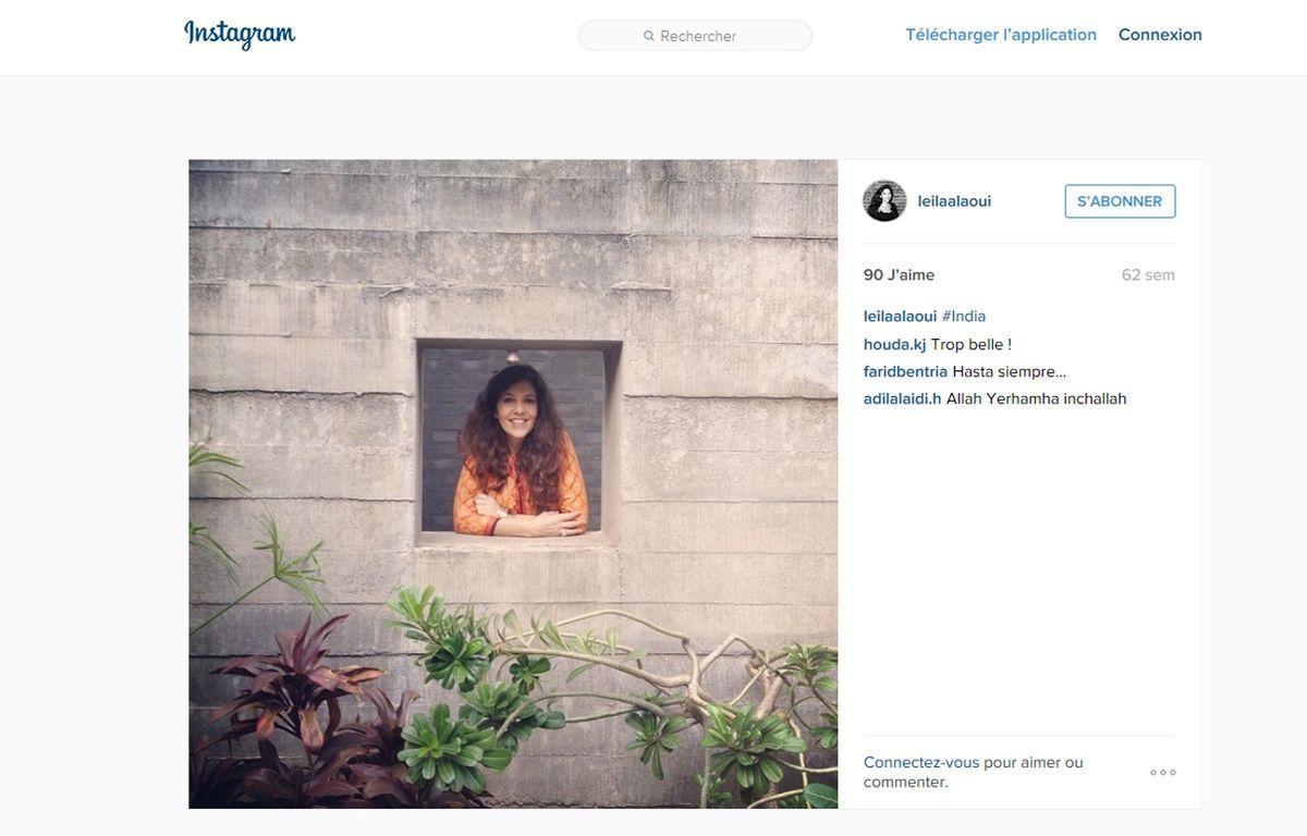 La photographe franco marocaine Leïla Alaoui. – Instagram.com/leilaalaoui