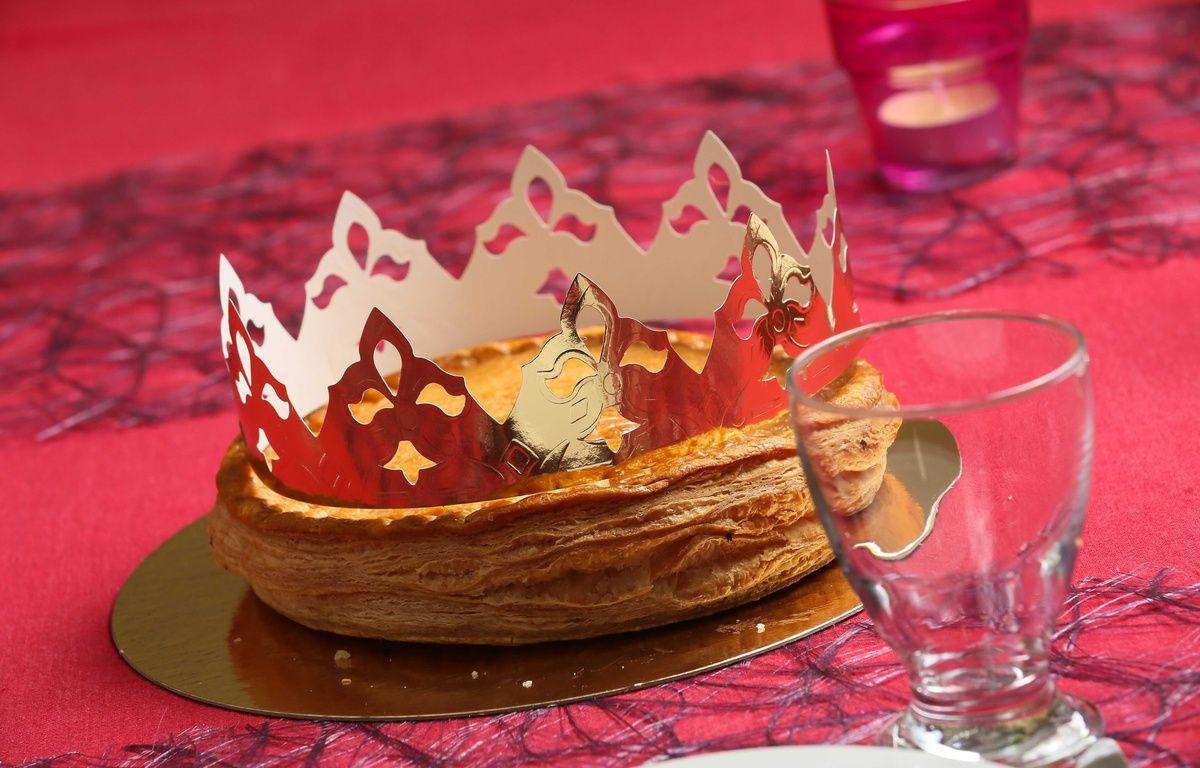 Illustration d'une galette des rois. – closon/ISOPIX/SIPA