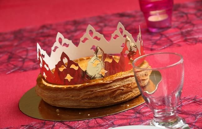 Illustration d'une galette des rois.