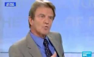 Bernard Kouchner sur «France 24».