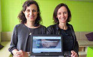Amélie Arcile et Anne-Laure Mesguen, cofondatrices de Benevolt.