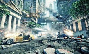 Dans «Crysis 2», des extraterrestres  envahissent New York en 2023.