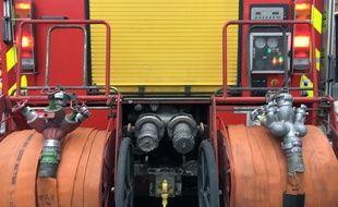 Les pompiers sont intervenus à 17 un peu avant 23h à Illkirch.
