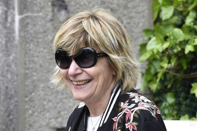 Mimi Marchand, le 22 avril 2017, au Touquet.