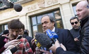 Michel Platini vit sa sanction comme une «injustice».
