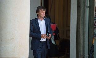 Le ministre de la Transition énergétique, Nicolas Hulot