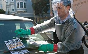 Les événements du film «Contagion», ici avec Jude Law, rappelle ceux du nouveau coronavirus, toutes proportions gardées