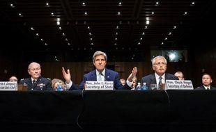 Les Etats-Unis ont défendu mardi le projet d'intervention militaire en Syrie au nom des intérêts américains et de la crédibilité des Etats-Unis face à l'Iran,au moment où le secrétaire général de l'ONU s'inquiétait d'une escalade.