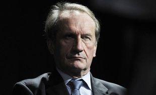 Le sénateur Gérard Longuet, le 1er mars 2010 à Paris.