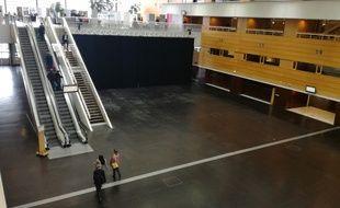 La grande halle de la Cité des congrès de Nantes.