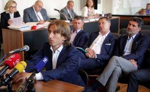 Luka Modric a été inculpé pour faux-témoignage après son revirement lors du procès Mamic au mois de mars.