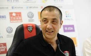 Mourad Boudjellal, en juillet 2017, alors qu'il était président du RC Toulon (archives).