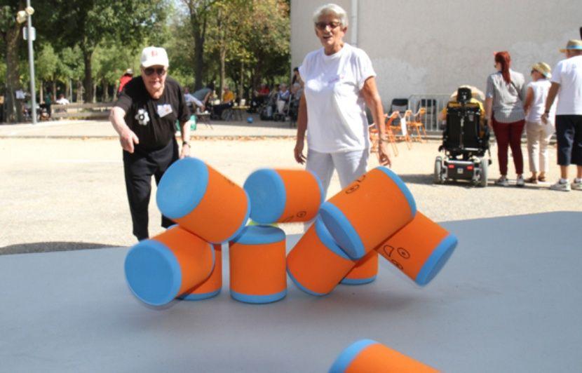VIDEO. Montpellier : Les retraités aussi ont leurs Jeux Olympiques