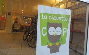 Le local de la Chouette Coop, au 12 avenue de Lyon, en attendant de trouver un local de 1.000 m2 pouvant accueillir le premier marché coopératif de Toulouse.