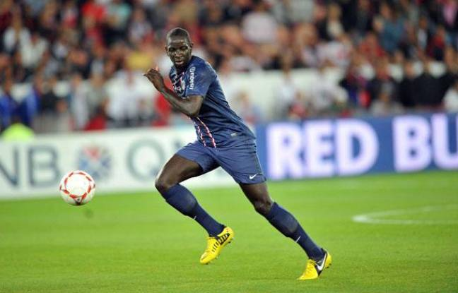 Mamadou Sakho face aux Girondins de Bordeaux, le 26 août 2012 à Paris.