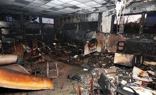 L'école maternelle Hachette, à Lille, a été partiellement incendiée.